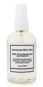 100-Pure-HYALURONIC-ACID-SERUM-Anti-Aging-Plumps-Wrinkles-Intense-Hydration-4oz