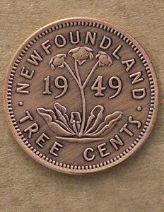 Newfoundland Tree Cents Novelty Coin