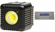 Lume Cube Black 1500 Lumen Light with JZS Microfiber Cleaning Cloth