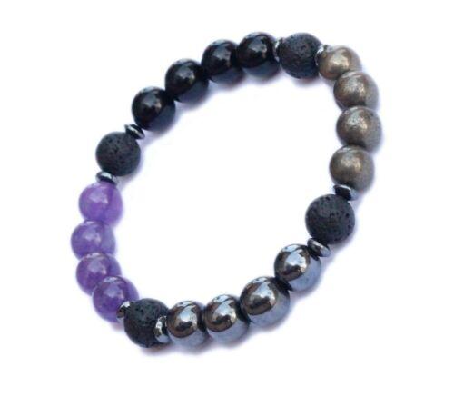 Empath Protection Crystal Aromatherapy Bracelet