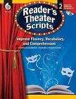 Reader's Theater Scripts, Grade 2: Improve Fluency, Vocabulary, and Comprehension by Lisa Zamosky (Mixed media product, 2010)