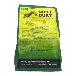 Dipel Thuricide Bt Dust Garden Insecticide Kits Safe To Use On Vegetables Ebay