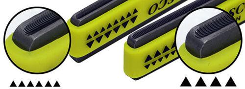 Hosco Compact Fret Crowning File for Small Frets Mandolins w// Grip Ukuleles