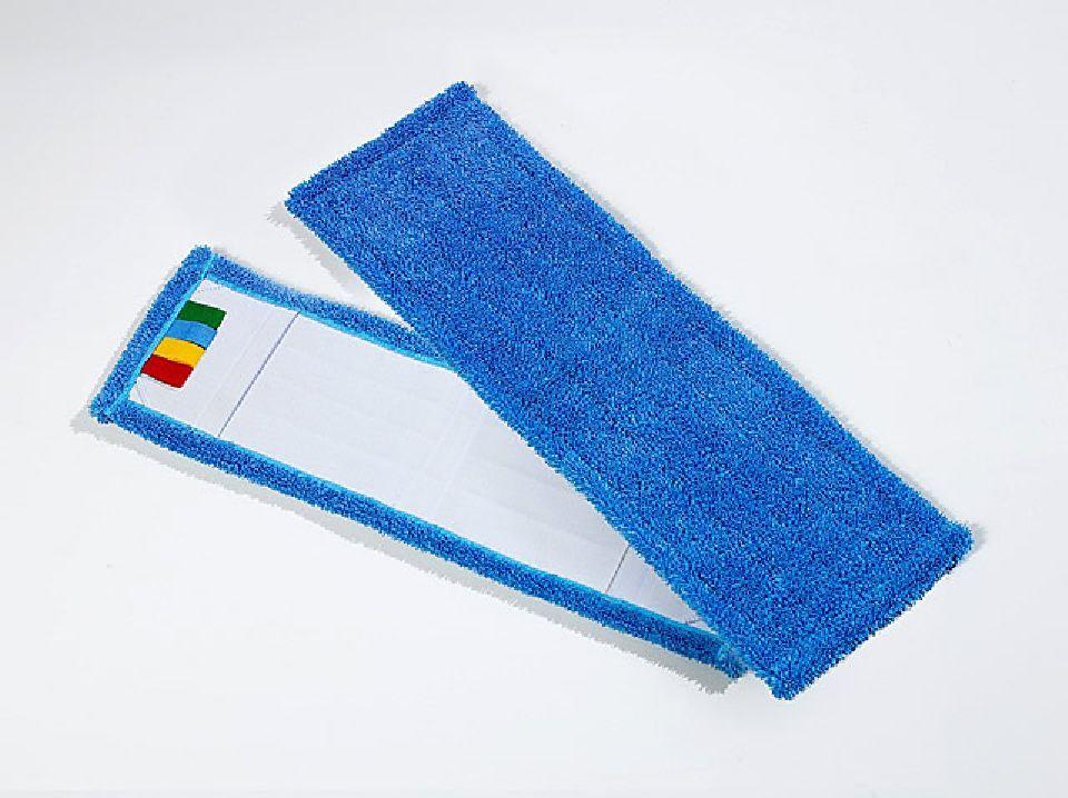 50 x Microfasermopp 50cm Speed blau Micromopp Mikrofaser Mopp Wischmopp Wischmop