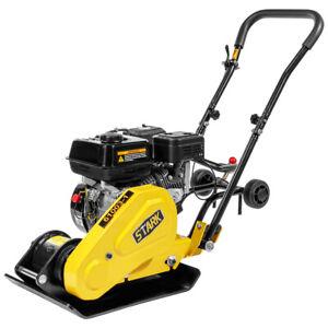 Walk-Behind-soil-Dirt-Vibratory-Plate-Compactor-Rammer-196cc-6-5hp-epa-Engine
