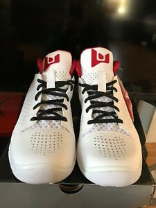 2f55ad5072ca97 Nike 479976-101 Air Jordan Fly 2011 Dwayne Wade II White Black Red ...