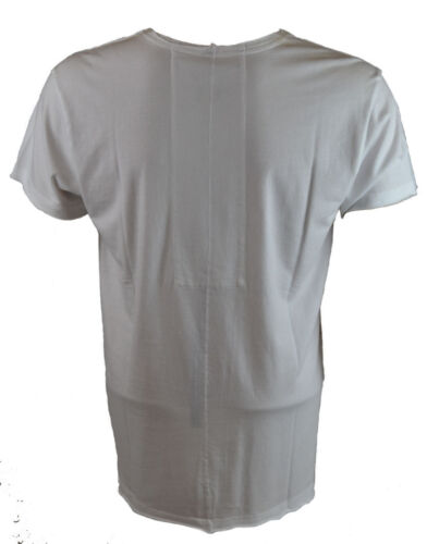 SOHTS005 Sons of Heroes Men/'s MADUSSA T-Shirt White
