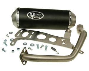 Auspuff-Sport-mit-E-Zeichen-Turbo-Kit-GMax-4T-fur-Kymco-Agility-City-125