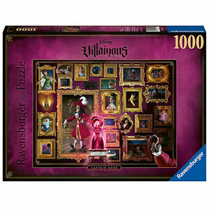 Ravensburger: Disney Villainous Captain Hook 1000 Piece Puzzle *BRAND NEW*