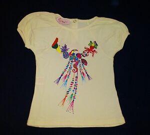 LOLA-ET-MOI-PROMO-70-T-shirt-ivoire-Everyday-Sunshine-Neuf-etiquette