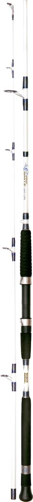 ZEBCO Great Weiß Light Lure - leichte bis mittelschwere Pilkrute Stiefelrute