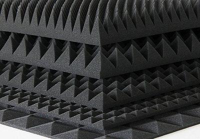 Akustik Noppenschaum Schaumstoff Pyramidenschaumstoff Dämmung Schallschutz