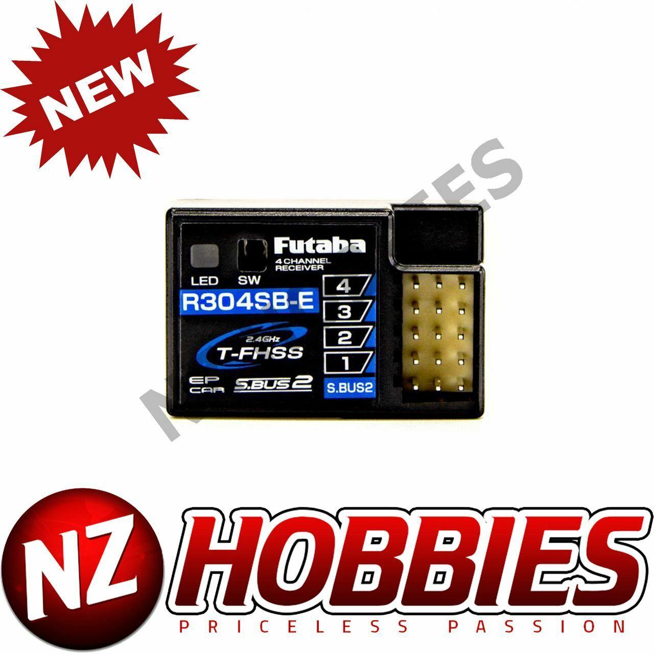 Futaba  R304SB-E (T-Fhss   S.autobus2 ) 4Ch Telemetria Rx 4PLS 4PX  per il commercio all'ingrosso