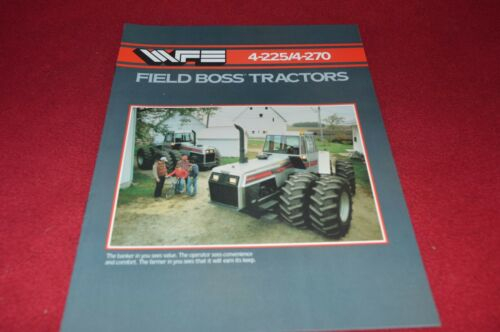 White Oliver Tractor 4-225 4-270 Tractor Dealer/'s Brochure DCPA9