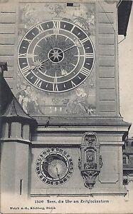 Suisse-Bern-Die-Uhr-am-Zeitglockenturm