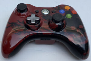 Genuine Microsoft Xbox 360 Limited Edition Gears of War Wireless Controller 1403