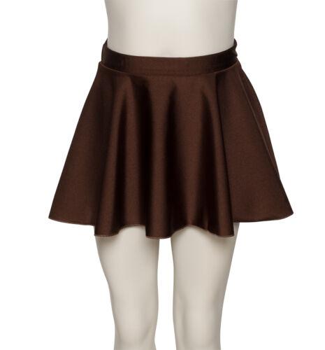 Girls Ladies Lycra Ballet Dance Circular Pull On Skirt By Katz Dancewear KDSK01