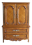 french provincial cabernet collection walnut armoire by drexel heritage