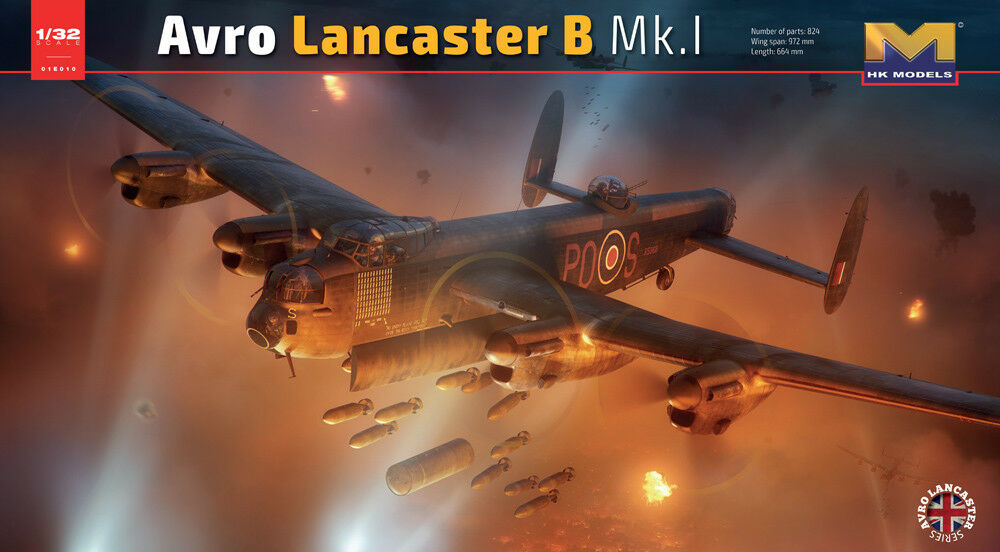 Hong Kong Models 1 32 Avro Lancaster B Mk.i  01e06  | Hat einen langen Ruf