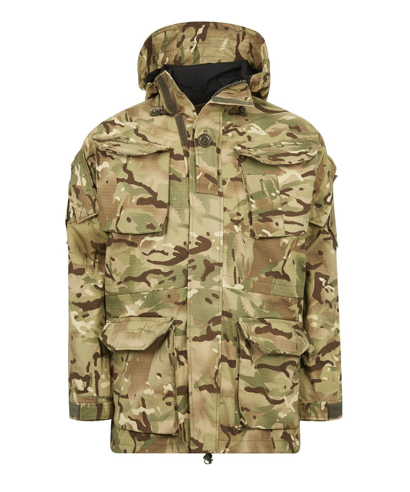 Ejército británico SAS PC  A Prueba de Viento Combate azulsón Chaqueta Forrada MVP Multicam MTP  hasta un 70% de descuento