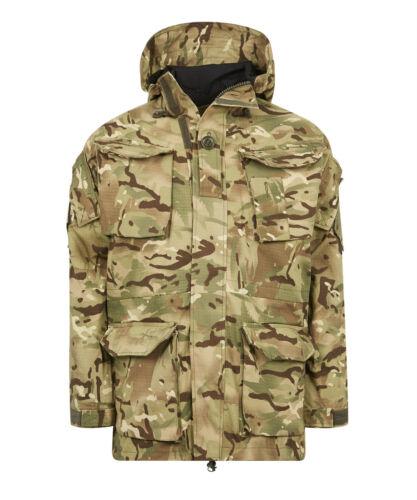 Ejército británico SAS PC A Prueba de Viento Combate Blusón Chaqueta Forrada MVP Multicam MTP