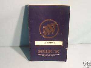 90 1990 buick lesabre owners manual ebay rh ebay com 1991 Buick LeSabre 1991 Buick LeSabre