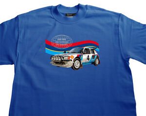 T shirt rallye wrc