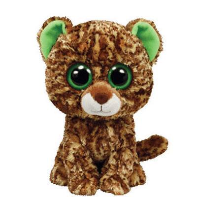 Peluche Ty Beanie Boos 15cm - Speckles Leopardo Versione Vecchia