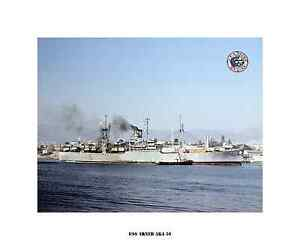 Naval Ship Photo Print USN Navy USS Montague AKA 98