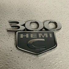 05-10 Chrysler 300 Chrome /& Black 300 TOURING Emblem Decal Nameplate OEM MOPAR