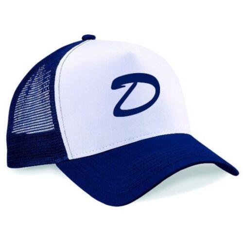 Letter D Snapback Printed Half Mesh Baseball Trucker Cap Clementine/'s Hat