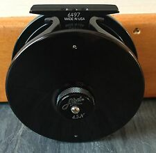 Abel Fly Reel Big Game #4.5N Standard Arbor Black / Deep Blue -New!