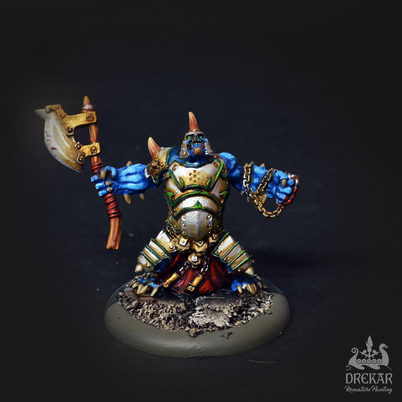 Allgemeine gerlak slaughterborn cryx solo - drekar miniaturen gemalt