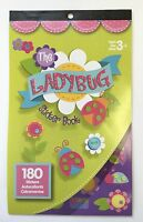 180 Spring Ladybug Garden Flower Stickers Party Favors Scrapbook Teacher Supply