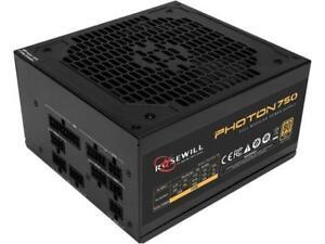 Rosewill PHOTON Series 750W Full Modular Gaming Power Supply, 80 PLUS Gold Certi
