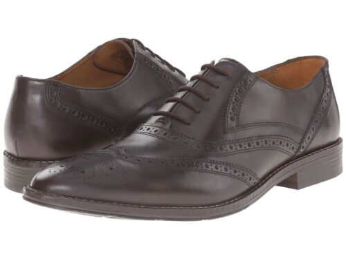 65/% OFF NEW Mens  HUSH PUPPIES Bronson Wingtip Oxford Brown Retail $140