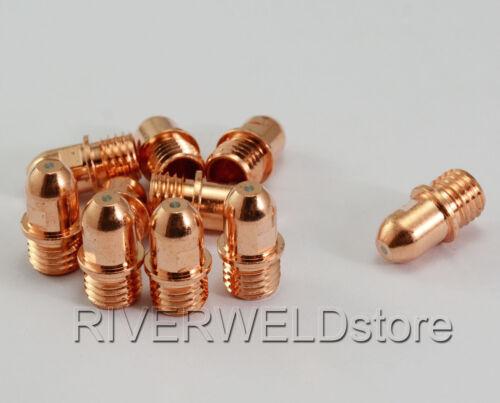 Details about  /10pk C1376 Plasma Electrode Fit Cebora CP160 HP100 Trafimet PR0034 /& CB100 CB150