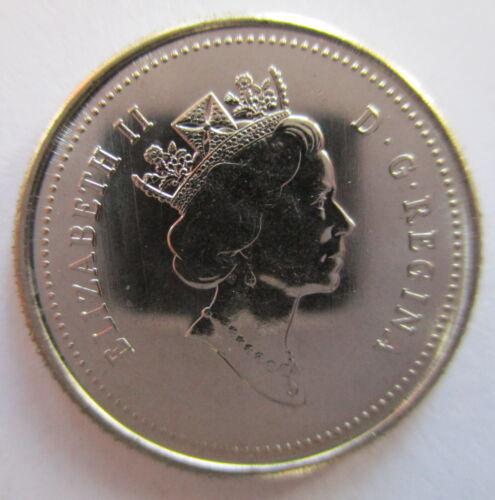 1991 CANADA 10¢ BRILLIANT UNCIRCULATED DIME