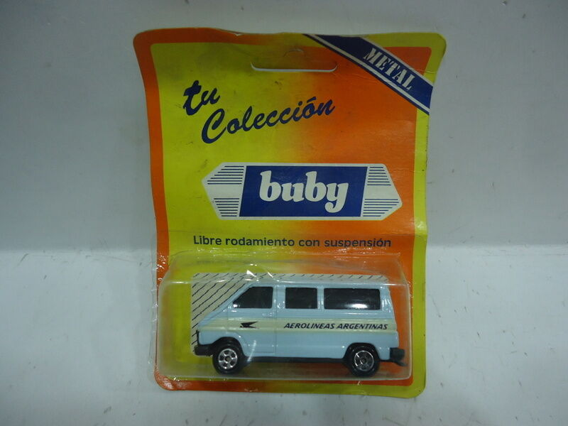 RENAULT TRAFIC AEROLINEAS silverINAS AIRLINES BUBY MADE IN silverINA 80`S 1 64
