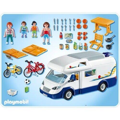 Playmobil, Camper, Family camper 4859