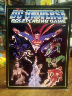 Diplomatico West End Games Dc Universe Roleplaying Game Core Rulebook Facile Da Lubrificare