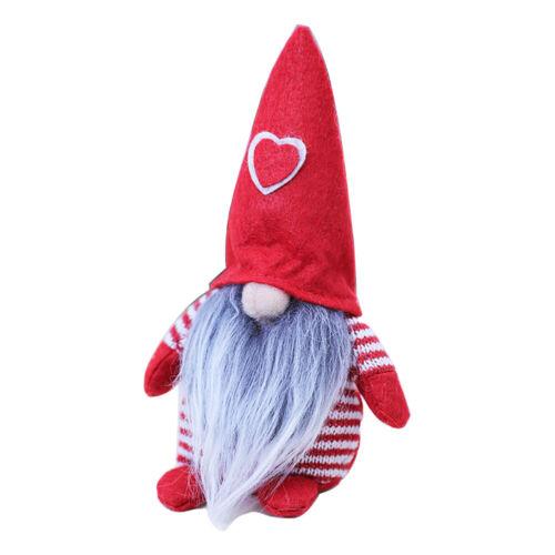 Swedish Lucky Gnome Tomte Santa Claus Christmas Doll Home Decor Xams Gift DI