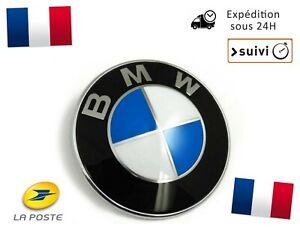 Logo-BMW-82mm-Coffre-Capot-Serie-1-3-5-7-E39-E46-E90-E60-E92-X3-X5-X6-M3-M5-M6