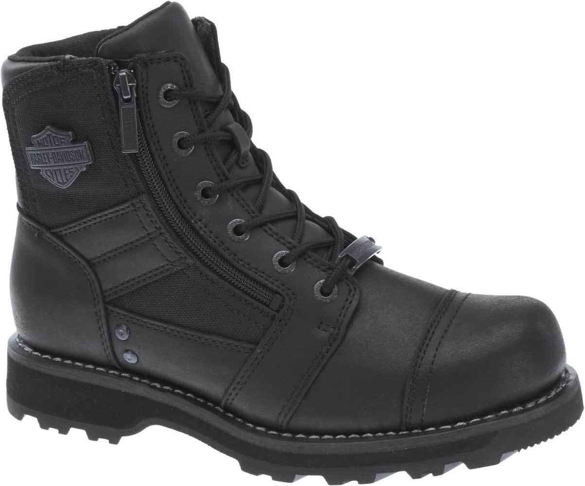 Harley-Davidson Men's Bonham 6.25-Inch Blacked-Out Motorcycle Boots D93369