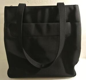 Rare-FOSSIL-Large-BLACK-TOTE-Hand-Shoulder-Bag-Handbag-Purse-Work-Laptop-Travel