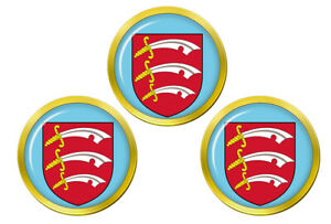 Essex-Angleterre-Marqueurs-de-Balles-de-Golf