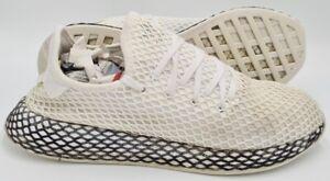 Adidas deerupt Runner Mesh Baskets B41767 CLOUD blanc/noir UK9/US9.5/EU43