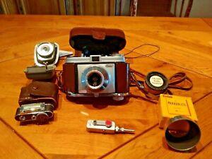 Appareil Photo Argentique Kodak Rétinette avec accessoires