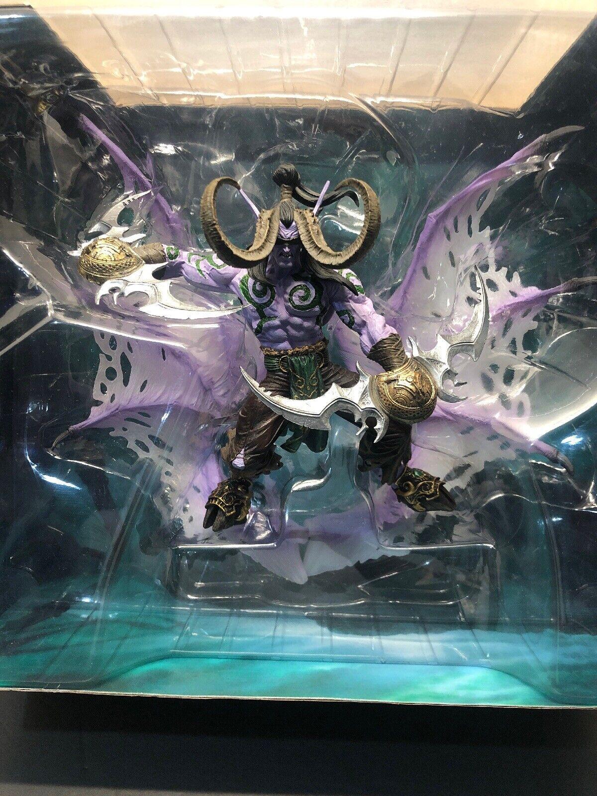 World of Warcraft Illidan Stormrage Stormrage Deluxe coleccionista de forma de demonio figura  Entrega gratuita y rápida disponible.