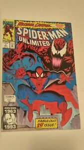 Spider-Man-Unlimited-1-May-1993-Marvel-Comics-1st-Issue-Maximum-CARNAGE